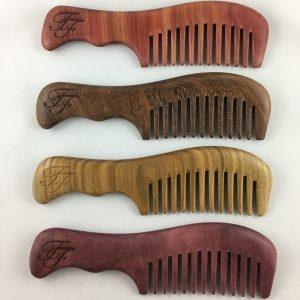Hand made wood combs